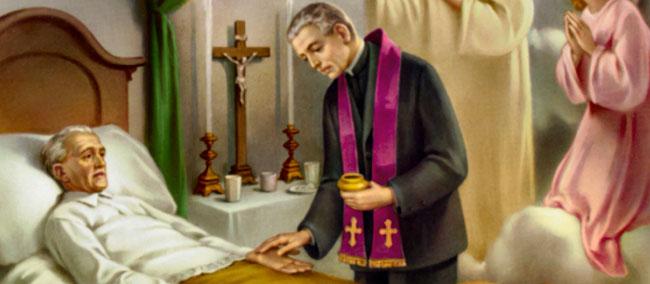 Dėl kunigo iškvietimo pas ligonį